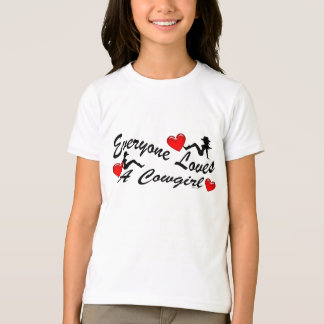 Loves A Cowgirl Kids T-Shirt