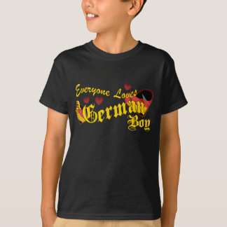 Loves an German Boy Kids T-Shirt