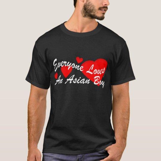 Loves Asian Boy (Dark) T-Shirt