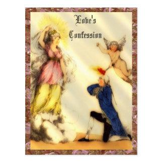 Love's Confession Customizable  Postcard