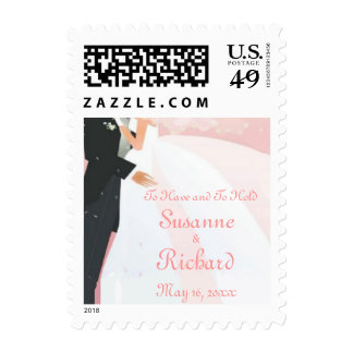 Love's Embrace Postage Stamp