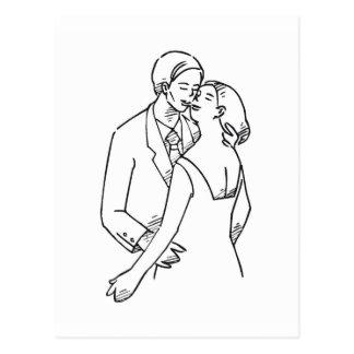 Loves Embrace Postcard