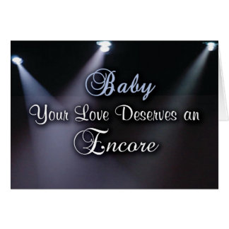 Love's Encore Greeting Card