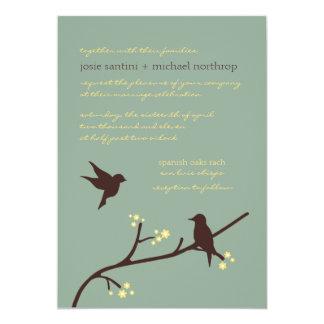 Love's Flight 5x7 Invitations