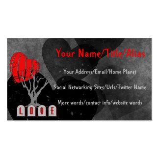 Love's Graveyard Business Card