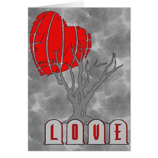 Love's Graveyard Card
