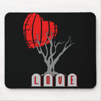 Love's Graveyard Mouse Pads