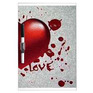 Love's Heat Image Only Dry Erase Board