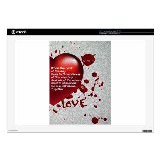 Love's Heat Laptop Skin