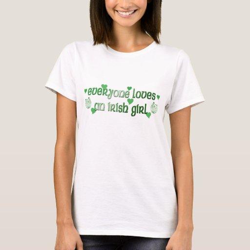 Loves Irish Girl T-Shirt