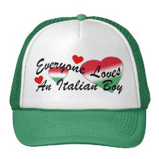 Loves Italian Boy Hat