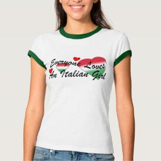Loves Italian Girl I Tee Shirt