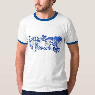 Loves Jewish Boy (Dark) T-Shirt