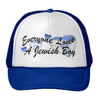 Loves Jewish Boy Hat