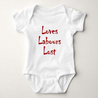 Loves labours draws baby bodysuit