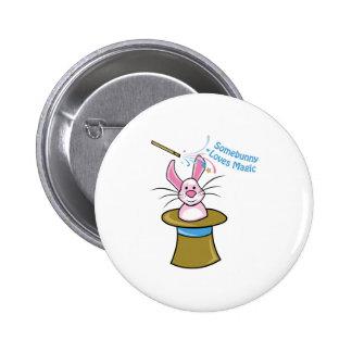 Loves Magic Pinback Button