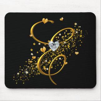 Love's Magic E mongram Mouse Pad
