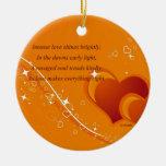 Love's Majesty Christmas Tree Ornaments