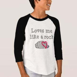 Loves me like a rock t-shirt
