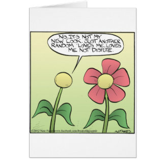 Loves Me, Loves Me Not Greeting Cards