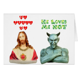 Loves Me -- Loves Me Not (Original Design) Card
