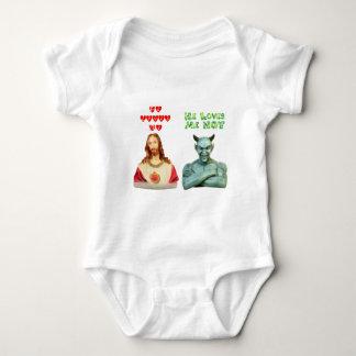 Loves Me -- Loves Me Not (Original Design) Infant Creeper