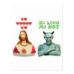 Loves Me -- Loves Me Not (Original Design) Postcards