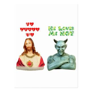 Loves Me -- Loves Me Not (Original Design) Postcard