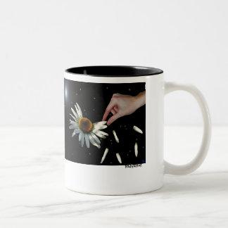 Loves Me....Loves Me Not.... Two-Tone Coffee Mug