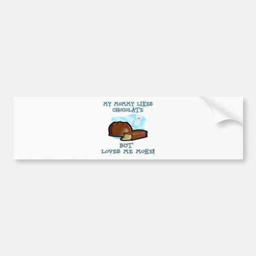 Loves-me-more Bumper Stickers