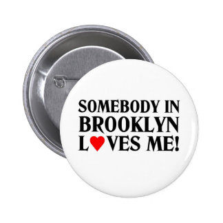 Loves me pinback button