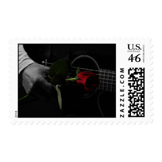 Love's Melody Postage Stamps