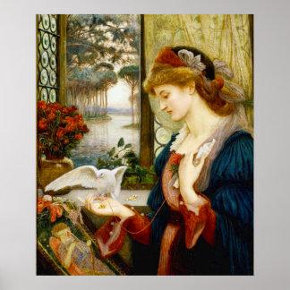 Love's Messenger Fine Art Poster