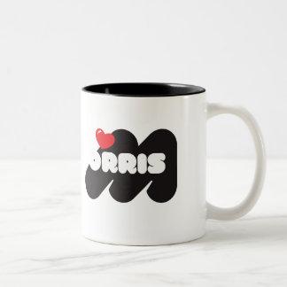 Loves Morris Coffee Cup Taza De Dos Tonos