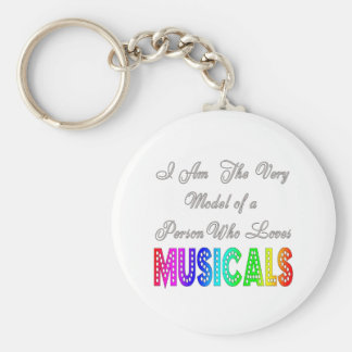 Loves Musicals Keychain