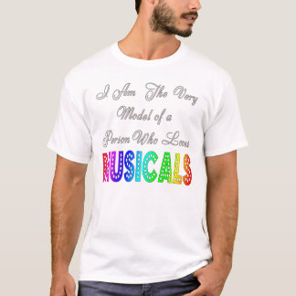 Loves Musicals Mens T-Shirt