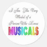 Loves Musicals Stickers