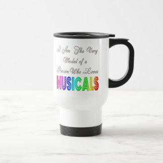 Loves Musicals Travel Mug