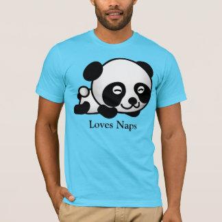 Loves Naps Cute Sleeping Panda T-Shirt