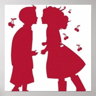 Loves of children - print