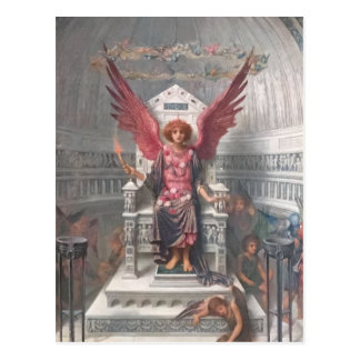 Love's Palace Postcard by John Melhuish Strudwick