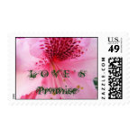 LOVE'S Promise stamps Pink Rhododendrons postage