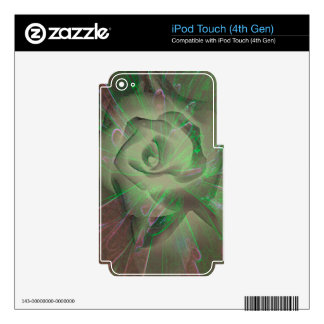 Love's Radiating Aura Skin For iPod Touch 4G
