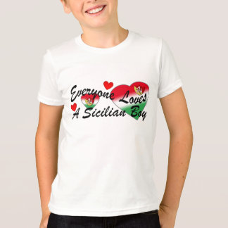 Loves Sicilian Boy T-Shirt