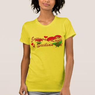 Loves Sicilian Girl (Dark) Shirt