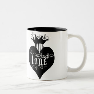 Loves Sweet Poison Two-Tone Coffee Mug