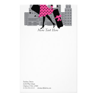 Loves the City Customized Stationery