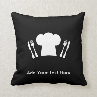 Loves to Cook Kitchen or Restaurant Throw Pillow