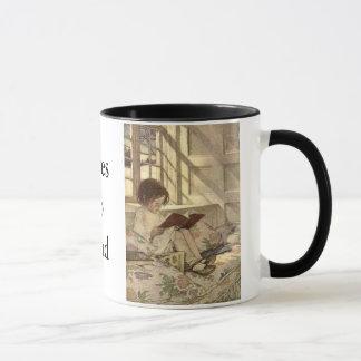 Loves to Read Mug