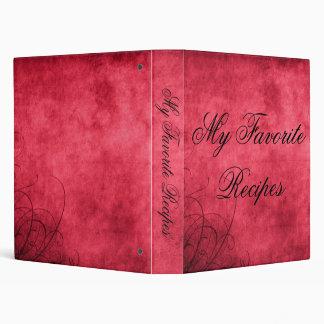 Love's Twilight Recipe Album 3 Ring Binder